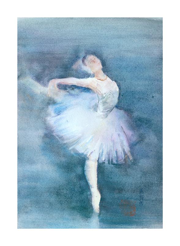 (6)苏野-芭蕾二28X39CM
