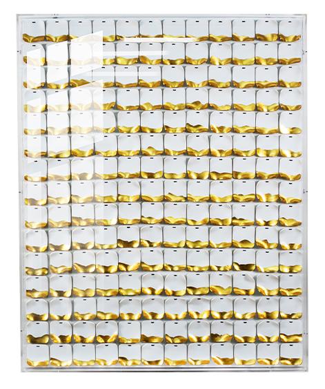 轻奢现代抽象立体客厅挂画金箔大气简约卧室床头亚克力手工3D壁画